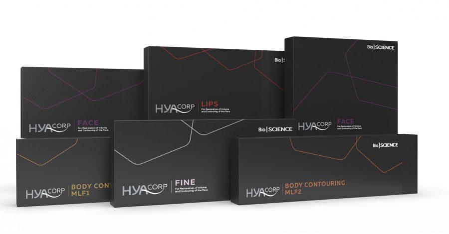 HYAcorp wszystkie produkty kwas hialuronowy